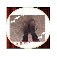 大人/お気に入り/ブーツ/初/今年/クリスマス