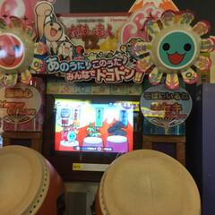 楽しい/ゲーム/ゲーセン/ハンドメイド ゲーセンに行って、太鼓の達人をやった!ほ…(1枚目)