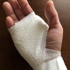利き手使えず不便‼️/痛いよー😭/手術/バネ指/腱鞘炎/フォロー大歓迎 皆さま、ご心配をおかけしましたが、無事オ…