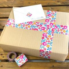 YOJO TAPE/養生テープ/マスキングテープ/マステ/ラッピング/バレンタインデー/... 今年は仲のいいお友達に日頃の感謝を込めて…