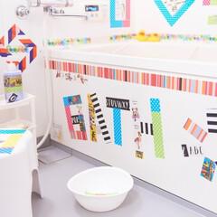 DIY/養生テープ/浴室・風呂/お風呂/デコレーション/耐水性/... 《YOJOTAPE》には、「水に強い」「…