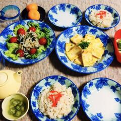 うまい村デイリー 旭松 新 あさひ豆腐 ポリ 5個 x10(即席みそ汁、吸い物)を使ったクチコミ「🍚昨夜の夕食🥢 大根・生姜の炊き込みご飯…」