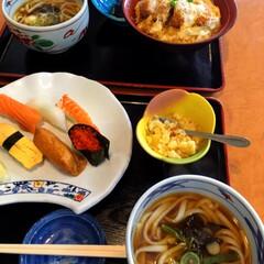 コーヒー飲み放題/握り寿司/山菜うどん/かつ丼/ランチ/フォロー大歓迎/... 🍣今日のランチ🥢 打ち合わせ兼ランチ✨ …