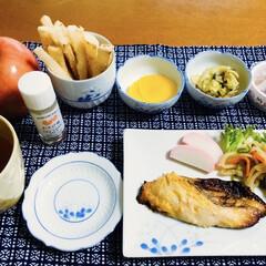 フライド大根/初挑戦/今年のりんご/次のコンテストはコレだ!/フォロー大歓迎 🍚我が家の夕食🥢 焼き魚(銀かます西京漬…