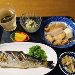 業務スーパー/ザーサイ/焼き魚/夏日予報/腸活中/我が家の夕食/... 🍚我が家の夕食🥢 焼き魚(鰊) ザーサイ…(1枚目)