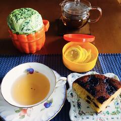 ホットケーキミックス粉/ケーキ機能/電気調理鍋/レーズン入/バナナレシピ/カフェ風 🍽我が家のおやつ☕️ 電気調理鍋で出来る…