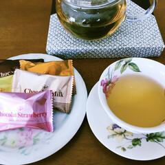 チョコレート/春のフォト投稿キャンペーン/ありがとう平成/フォロー大歓迎/LIMIAファンクラブ/GW/... 🍫GW☕️ もう、おやつ食べてます🍫