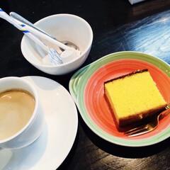 素敵な皿/おもてなし/食器/カトラリー/キッチン雑貨/食卓/... ☕️友達とお茶☕️ 超久しぶりに友達とお…(1枚目)