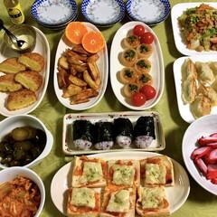 応援料理/サッカー/料理/フォロー大歓迎/冬/おうち/... ⚽️今日の夕食⚽️ サッカーAFCアジア…