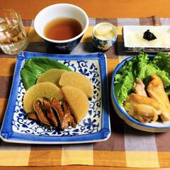 鮭とば/食器/令和の一枚/フォロー大歓迎/LIMIAファンクラブ/LIMIAごはんクラブ/... 🍚昨夜の夕食🥢 鮭とば・大根の煮物。 鶏…