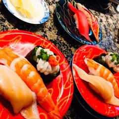 寿司の日/函太郎寿司青森店/おでかけ/フォロー大歓迎 🍣我が家の夕食🥢 昨日は寿司の日🍣 息子…
