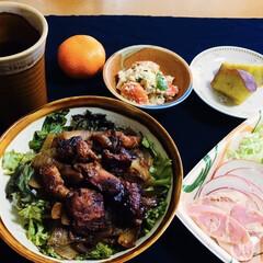 東洋水産 マルちゃん おさかなでつくったソーセージ 70g×4本×15入(魚肉ソーセージ)を使ったクチコミ「🍚我が家の夕食🥢 焼き鳥丼。 魚肉ソーセ…」