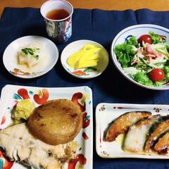 我が家の夕食/ソテー/時短レシピ/ラク家事/スタミナご飯/スタミナ丼/... 🍚我が家の夕食🥢 白身魚・大根ソテー。 …
