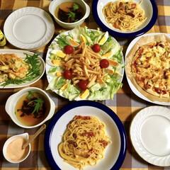手作り/カルボナーラ/LIMIAごはんクラブ/フォロー大歓迎/わたしのごはん/おうちごはんクラブ 😆昨日の夕食🍴 息子が作ってくれました。…