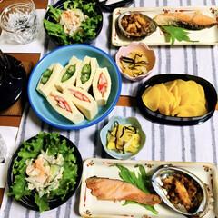 鮭/アワビ/春のフォト投稿キャンペーン/ありがとう平成/フォロー大歓迎/LIMIAファンクラブ/... 🍚平成最後の夕食🥢 アワビのバター醤油焼…