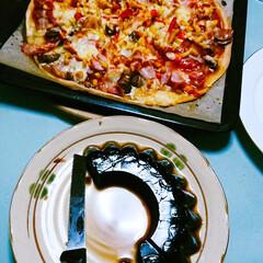 ホタテ貝焼き味噌/コーヒーゼリー/ピザ/LIMIAごはんクラブ/LIMIAおでかけ部/フォロー大歓迎/... 🍕昨夜の夕食🍴 イベントの打ち合わせ☕️…