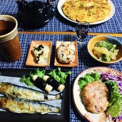 recolte カプセルカッター ボンヌ レコルト レシピ付き おまけ付き フードプロセッサー ブレンダー ミキサー アイスクラッシャー フードカッター おしゃれ | récolte(ジューサー、ミキサー、フードプロセッサー)を使ったクチコミ「🍚我が家の夕食🥢 焼き魚。 チーカマ海苔…」