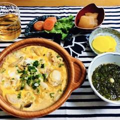 帆立貝焼き味噌/地元食材/おうちごはん/100均/うちの定番料理 🍚我が家の夕食🥢 帆立貝焼き味噌。 もす…