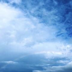 写真/台風一過/虹/空/おでかけ/フォロー大歓迎/...  台風一過のあとの空  虹なんて久しぶり…