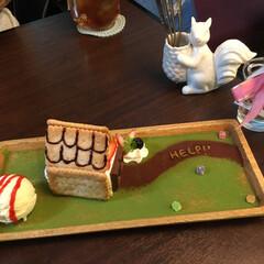 甘党大集合 神戸otogicafeのグレーテルのケーキ