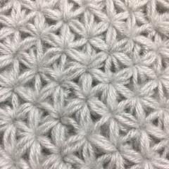 リフ編み/毛糸/編み物/あけおめ/冬/おうち/... 編み物に夢中に🧶  なかでも、リフ編みの…