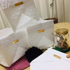 節約/おうち/ハンドメイド/住まい/折り紙/時短 要らなくなった紙などで 時々作ります。 …