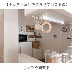 家事動線重視/ダンシャリアン/断捨離/オープン収納/ディスプレイ収納/吊るす収納/... ゴミ箱を部屋に置かなくなり、見た目も導線…(1枚目)