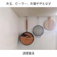 家事動線重視/ダンシャリアン/断捨離/オープン収納/ディスプレイ収納/吊るす収納/... ゴミ箱を部屋に置かなくなり、見た目も導線…(2枚目)