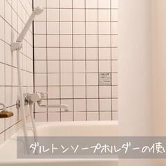 ダルトン ソープホルダー マグネットソープホルダー Magnetic soap holder 石鹸台 石鹸置き ダルトン DULTON CH12-H463 固形石けん専用 | DULTON(せっけん)を使ったクチコミ「今年のベストバイ。  石鹸置きひとつでも…」