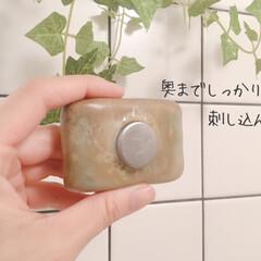 ダルトン ソープホルダー マグネットソープホルダー Magnetic soap holder 石鹸台 石鹸置き ダルトン DULTON CH12-H463 固形石けん専用   DULTON(せっけん)を使ったクチコミ「今年のベストバイ。  石鹸置きひとつでも…」(7枚目)