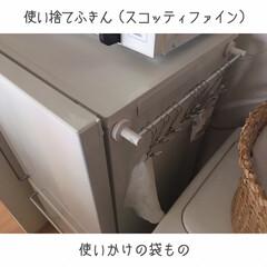 家事動線重視/ダンシャリアン/断捨離/オープン収納/ディスプレイ収納/吊るす収納/... ゴミ箱を部屋に置かなくなり、見た目も導線…(4枚目)