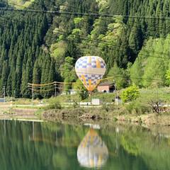 家族旅行/気球/LIMIAおでかけ部/おでかけ/旅行/風景/... 岐阜県郡上市にある気球乗車体験に行ってき…