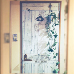 丸七 MR-47 リメイクシート オールドウッドB(その他キッチン、日用品、文具)を使ったクチコミ「【Chill's Toilet】 ほぼ1…」