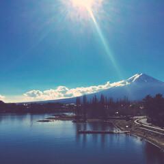 山中湖/雪/山/富士山/撮影/写真 富士山  「富士山見たい、今。」で行った…
