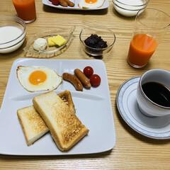 コーヒードリップ ブレンドセット 70袋   タソガレ(コーヒー豆(豆挽き済))を使ったクチコミ「朝食☆   『小倉トーストが食べたい』 …」(1枚目)