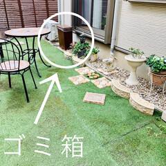 ペイント/庭/生ゴミ/虫対策/臭い対策/屋外/... 我が家のゴミ箱(生ゴミ)☆   以前から…(2枚目)
