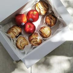 りんご🍎/りんごマフィン/アップル/マフィン/お菓子作り/焼き菓子/... 『🍎りんごとクリームチーズのマフィン』 …