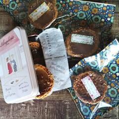 ラッピング/スイーツ/スイーツ作り/焼き菓子/お菓子/シューラスク/... *pâte à choux*  クッキー…