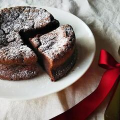 ショコラ/バレンタインチョコレート/バレンタインデー/バレンタイン/ハンドメイド/グルメ/... *Gâteau au chocolat*…