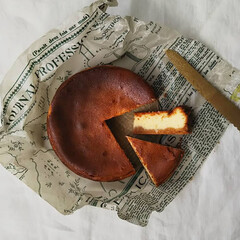 ケーキ作り/レモン/レモンケーキ/ベイクドチーズケーキ/チーズケーキ/お菓子作り/... *レモンのリコッタベイクドチーズケーキ*…