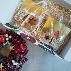 AfternoonTea/afternoon/お菓子作り/スノーボールクッキー/スノーボール/焼き菓子/... キラキラ!ステンドグラスのジンジャーレッ…(2枚目)