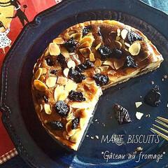 ベイクドチーズケーキ/焼き菓子/おうちカフェ/スイーツ作り/スイーツ/お菓子作り/... *Gâteau au fromage, …