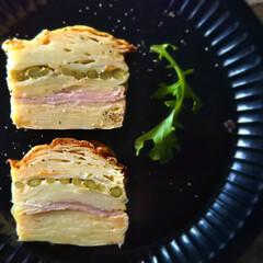 ランチ/食卓を囲む/食卓を彩る/お菓子作り/焼き菓子/ガトーインビジブル/... *ガトー・インビジブル・サレ*  野菜を…