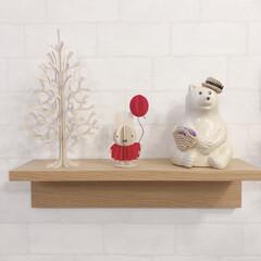 壁に付けられる家具/無印良品/ミッフィー/lovi/しろくま貯金箱/北欧テイスト/... 北欧雑貨が大好き♡♡ lovi のツリー…