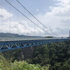お出かけワンショット/おでかけワンショット 竜神大橋行ってきました!真ん中辺りからバ…
