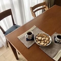 アラビア プレート ARABIA ブラック パラティッシ Black Paratiisi プレート ARABIA 21cm 6671 | アラビア(皿)を使ったクチコミ「強力粉を使ったクッキーを作りました🍪ミッ…」(2枚目)