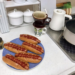 カリタ 陶器製コーヒードリッパー 102-ロト#02001 | カリタ(その他調理用具)を使ったクチコミ「IKEAのホットドックセットはお手頃価格…」