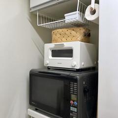 バルミューダ スチームオーブントースター BALMUDA The Toaster K01A-KG | BALMUDA(トースター)を使ったクチコミ「キッチンにも、トイレ掃除用につけたものと…」