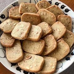 アラビア プレート ARABIA ブラック パラティッシ Black Paratiisi プレート ARABIA 21cm 6671 | アラビア(皿)を使ったクチコミ「強力粉を使ったクッキーを作りました🍪ミッ…」(6枚目)
