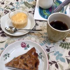 お料理教室/ドルチェ/ジェラート/マンゴーのジェラート/タルト/苺のタルト/... お料理教室でのデザート🍰🍮マンゴー🥭のジ…